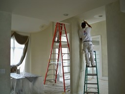 living room painting service