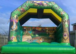 12ft x 12ft jungle theme castle