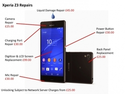 Sony Xperia Z Repairs