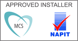 We are MCS and Napit Approved Installers