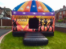 Disco Dome hire Hartlepool . . . . .
