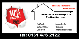 Roofers In Edinburgh, building services edinburgh