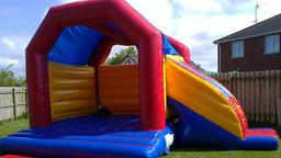 21ft x 15ft castle slide combo
