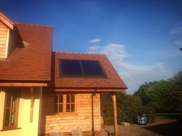 Solar Thermal in Roof install