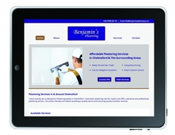 Benjamins Plastering Website