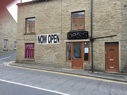 Now open in Crawshawbooth sunbeds and nails