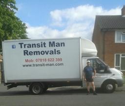 Transit Man Removals Van