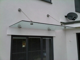 We Supply and Fit Glass Canopies