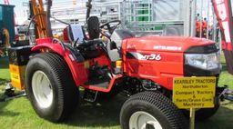 Mitsubishi Compact Tractors