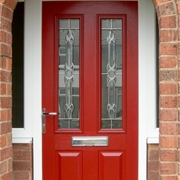 Our GRP Doors All have a solid hard wood core - no expanding foam here
