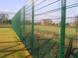 Security Fence installed for a client in Stamford