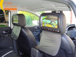 Ford Kuga Fitted With Dvd Headrest System.