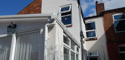 External render to period property - Birmingham