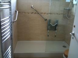 Shower room for OAP in Milton Keynes