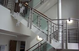 Balustrade Stair Case Timber Handrail