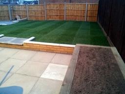 Lawn Retain Walls Barrow