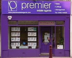 Premier Estate Agents office front