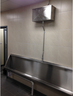 Stainless steel urinal