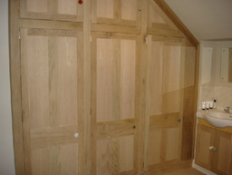 Bespoke built - Solid Oak Wardrobes