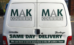 MAK Couriers - Same Day Couriers Van