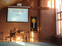 Church Projector Installation