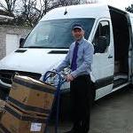 A Man With His Van