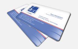 Thick plastic cards : Call us on 020 8863 4411