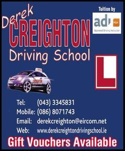 Derek Creighton Driving School