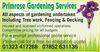 Primrose Gardening Services