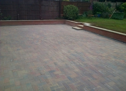 block paved  Patio by Lmt paving and landscapes Loughborough  , leicestershire