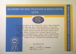 ADTB certificate