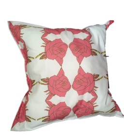 english rose luxury extra large handmade cushion