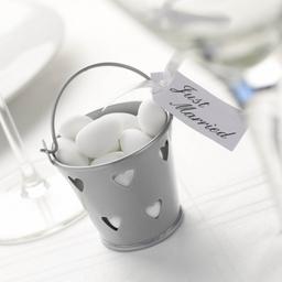 Wedding Favour - Silver Pail