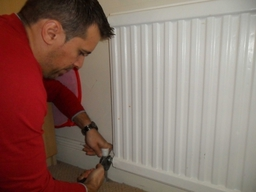 Replacing Faulty Lockshield Valve Of The Radiator