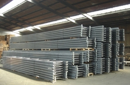 Secondhand Dexion frames and pallet racking