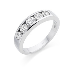 Avanti white gold diamond diamond eternity ring