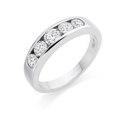 Avanti white gold diamond diamond eternity ring