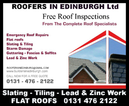 Roofers In Edinburgh, Local Roofing Contractors