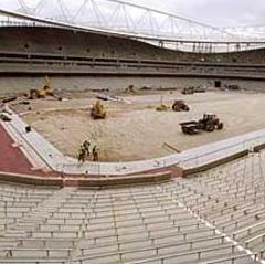 Emirates and Wembley Stadiums bespoke aluminium extruded bowl coverplates