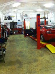Inside Elite Car Repairs