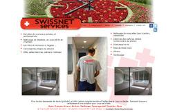 Swissnet Services website design