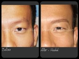 Male Brows Semi Permanent Makeup By El Truchan