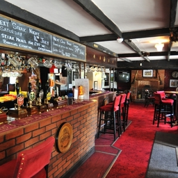 The Red Lion Pub Bar near Princes Risborough