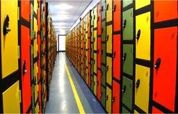 Coloured Metal Lockers