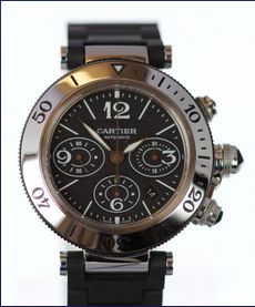 Cartier Pasha Chronograph - We Buy, Sell, Exchange & Advance Cash Loans