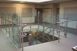Balustrades Brushed Finish Stainless Steel