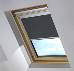 Dark Grey Sky Light Roof Blind