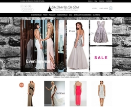 The Belle of the Ball Boutique Website Falkirk