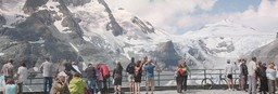 Single parent trip to the Grossglockner Mountain in Austria