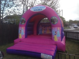 Medium outdoor princess castle